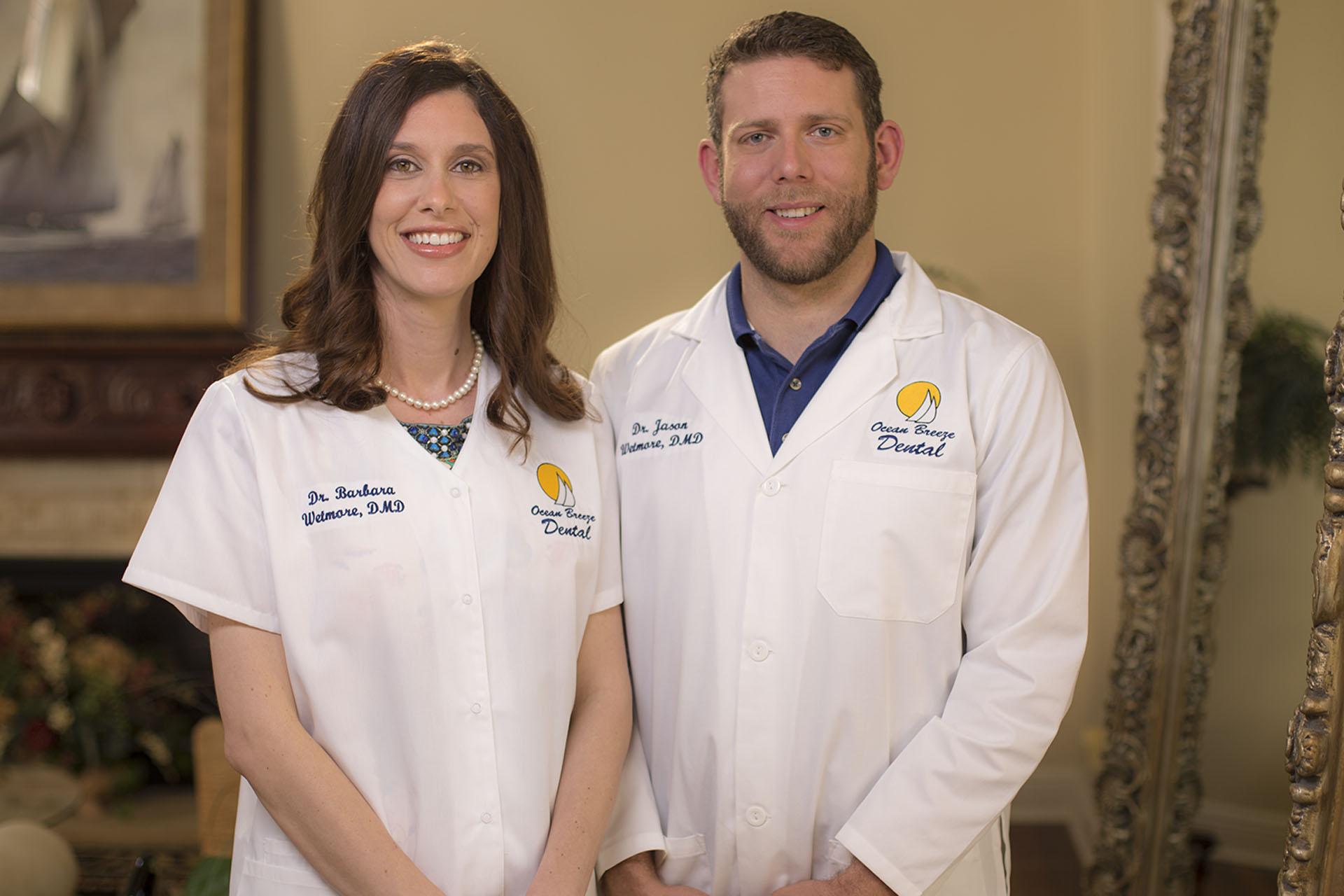 Drs. Barbara and Jason Wetmore